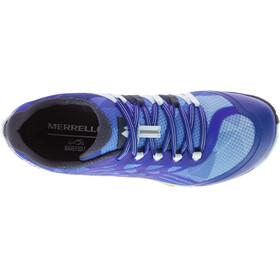 Merrell W's Trail Glove 4 Shoes Blue Sport